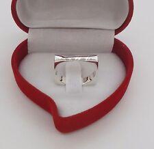 Sterling Silver 925 Square Wedding Kabbalah Rings Band Jewish New Size