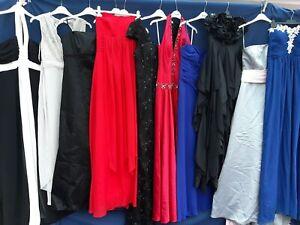 JOBLOT x 10 WEDDING BRIDESMAID EVENING DRESSES  FANCY DRESS SHOP CARBOOT MB5