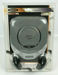 GPX C3870 Portable Compact Disc CD Player Ultra Slim - NEW - Sealed