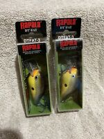 2- Rapala DT-FAT03-MGRA, Old School,  ( Lot of 2 ) Brand New! Fast Shipping!