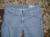 GAP CURVY STRETCH WOMEN'S BLUE JEANS SIZE 2R EDMONTON FLAP POCKET