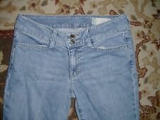 GAP CURVY STRETCH WOMEN'S BLUE JEANS SIZE 2R EDMONTON FLAP POCKET