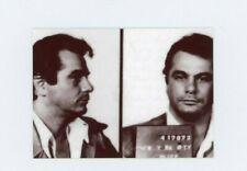 John Gotti Mug Shot -  METAL trading card  - Mafia Don - Organized Crime Lord