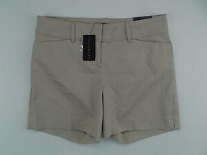 The Limited women's tailored dress shorts tan khaki size 4