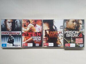 Prison Break Season 1-4 First Final Season DVD Bundle