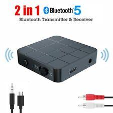 Bluetooth 5.0 Transmitter USB Adapter Audio Receiver For TV PC Speaker Headphone