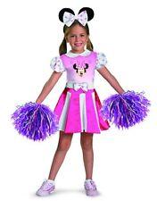 MINNIE MOUSE CHEERLEADER CHILD HALLOWEEN COSTUME GIRLS SIZE SMALL 4-6