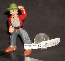Chinese Cowboy Western Bullyland Bully Toy Male Man Miniature Last #4586
