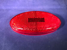 RV CAMPER MOTORHOME BUS COACH TRAILER RED REFLECTOR LIGHT LENS GLO BRIGHT 122R