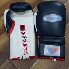 NUOVO Custom Guantoni Da Boxe Sparring Set stampare qualsiasi logo o nome no no vincente Grant