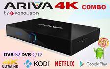 Ferguson Ariva 4K UHD H.265 COMBO Wifi Bluetooth Receiver PVR  DVB-S2 DVB-C/T2