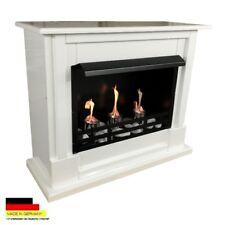 Bio Ethanol Fireplace Chimney Fire Place Camino Chimenea Firegel Nizza White