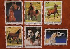 Benin 1996 Pferde gestempelt