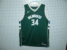 cbee244d0fd Nike Dri-Fit Milwaukee Bucks Jersey - ANTETOKOUNMPO #34 - size yOUTH XL