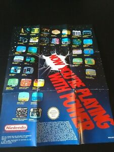Vintage Nintendo Now You're Playing With Power NES Entertainment System 1991