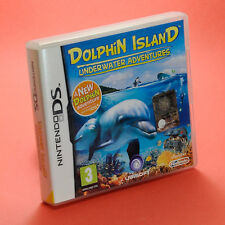 DOLPHIN ISLAND UNDERWATER ADVENTURES  NINTENDO DS compatibile 3DS - pegi 3
