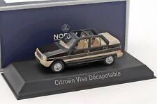 CITROEN VISA Decapotable 1984 Vison Brown - 1/43 - NOREV