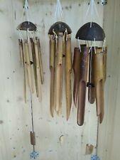 Campane a vento Scacciapensieri Scacciaspiriti Wind Bell Wind Chime cocco bambù