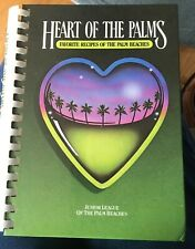 Heart of the Palms Cookbook Junior League of the Palm Beaches 1st Pr 261 pg