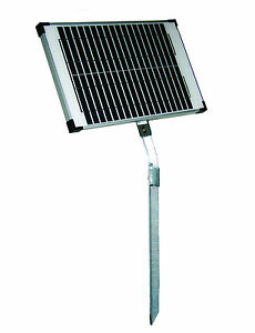10 Watt Solar Panel, with stand