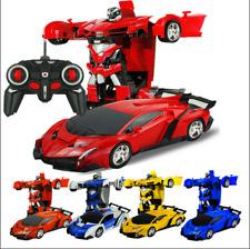 Weihnachten Kinde Spielzeug Transformer Auto Rennauto Roboter mit Fernbedienung