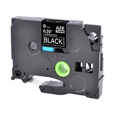 White On Black Label Tape Fit For Brother Tz 325 Tze 325 P Touch 38 9mm8m