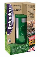 Stv610 MEGA ULTRA SONIC Cat Repeller Dog REPELLENTE Automatico Sensore di Movimento Rilevamento
