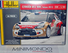 KIT CITROEN DS3 WRC 2013 RALLY MONTECARLO LOEB HIRVONEN SORDO 1/24 HELLER 80758