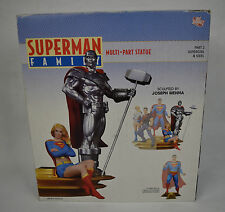 Superman Family Multi Part Statue 2 Steel Supergirl DC Direct