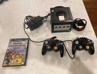 Nintendo GameCube Console Bundle + 2 Controllers Super Smash Bros Melee