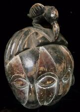 Old Tribal Galoa 4 Eyes Mask     -- Gabon  BN 9