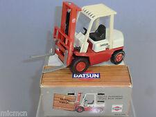 YONEZAWA Toys Diapet modello no.011-09165 DATSUN Carrello Elevatore Nuovo di zecca con scatola