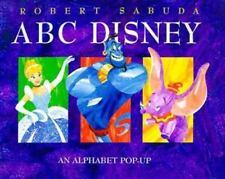 New Disney's Pop-Up Bks.: ABC Disney by Robert Sabuda (1998, Hardcover)