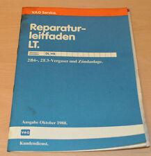 Werkstatthandbuch Reparaturleitfaden VW LT 2B6 2E3 Vergaser und Zündanlage