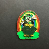WDW - St. Patrick's Day 2008 - Mickey Mouse - LE 2000 Disney Pin 60379