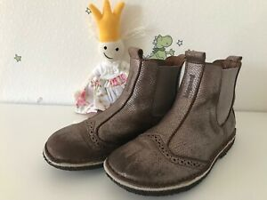 Bisgaard: Chelsea Schuhe Stiefel Mädchen / Gr. 32 / bronze Kupfer