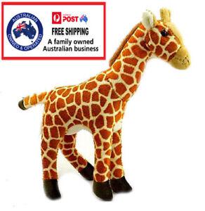 1 X PLUSH GIRAFFE 24CM teddy kids gift soft toy stuffed zoo animal christmas