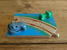 Brio Safari Crossing 33721 Interactive Crocodile And Hippo