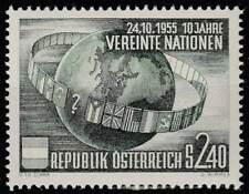 Oostenrijk postfris 1955 MNH 1022 - UNO 10 Jaar