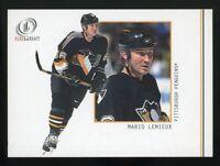 MARIO LEMIEUX 2002 Fleer Legacy Hockey #25 Pittsburgh Penguins HOF