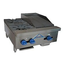 Comstock Castle Fhp24 1rb Countertop Gas Charbroiler Hotplate