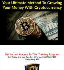 Crypto Currency Secrets Business Website For Sale w/ Software & Video Upsell