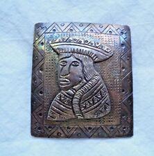 Vintage Industria Peruama 900 Silver Pin