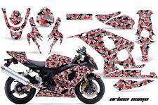 AMR Racing Graphic Kit Wrap Part Suzuki GSXR 600/750 Street Bike 04-05 URBAN CAM