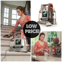 Hoover FH11300PC Spotless Portable Carpet & Upholstery Spot Cleaner & Solution