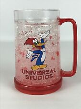 Woody Woodpecker Universal Studios 16 oz Frosty Freezer Mug Red Cup