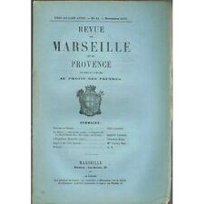 Revue de MARSEILLE et de PROVENCE Pétrone Pertuis Bastonnade Temps Modernes 1876