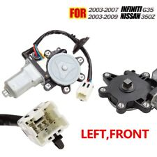 Front Left Driver Window Regulator Motor Fits Nissan 350Z 2003-2009 Infiniti G35