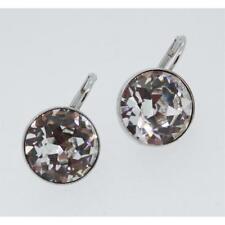 Swarovski Ladies Earrings Bella Rhodium-Plated Silver Crystal 883551