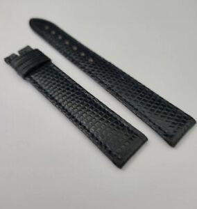 Cartier blue Navy lizard 15.5mm new old stock